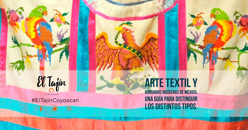 33a6236cc Arte textil y bordados indígenas de México